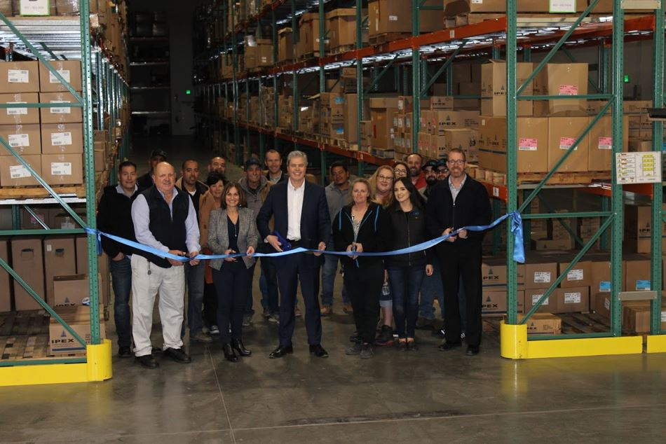 IPEX Celebrates the Grand Opening of the New Stockton Distribution Center