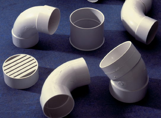 & PVC Solvent Weld Sewer Pipe and Fittings