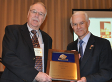 Peter Cook Honoured with ASTM Award of Merit