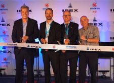 IPEX showcases $55-million investment in Edmonton plant expansion