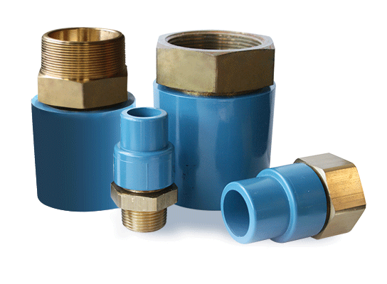 IPEX releases new range of AquaRise® Threaded Adapter Fittings